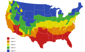 climate zone map for furnace