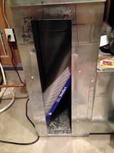 Furnace filter not in place