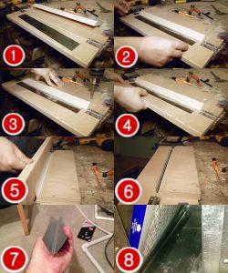 metal bending with jig steps
