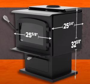 Drolet Drolet 1800 Dimensions